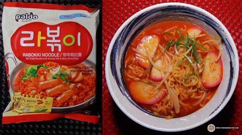 Ramen Di Korea Selatan mi korea tak hanya samyang ini mi instan korea paling
