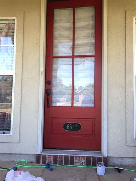 front door paint colors sherwin williams sherwin williams stolen kiss red front door patio