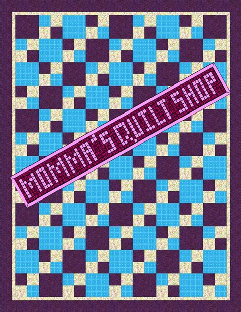 quilt pattern twin size easy 4 patch twin size quilt quilt pattern two patterns in one