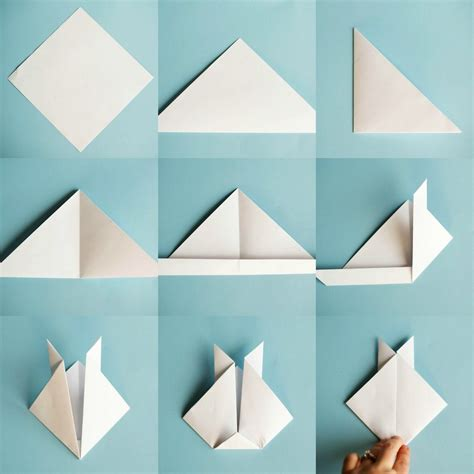 Easy Paper Folding For - easy origami animals paper flowers and home decor