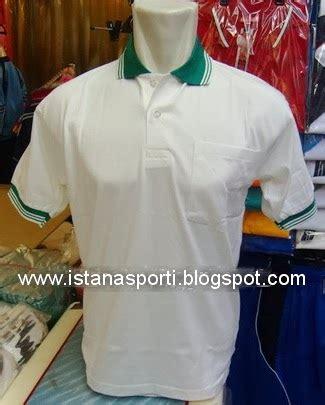 Kaos Jalan Jalan Warna Putih istana sport kaos oblong polos krah warna