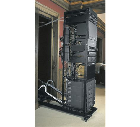 Middle Atlantic Wall Rack by Axs Series In Wall Slide Out Rack