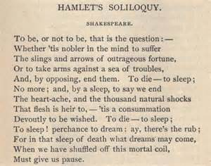Hamlet To Be Or Not To Be Essay by Hamlet S Quot To Be Or Not To Be Quot Soliloquy Poetry Words Sleep And William