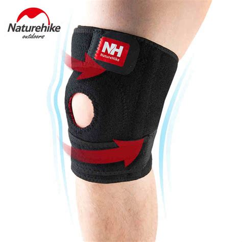 Naturehike Adjustable Kneepad Power Brace naturehike elastic knee brace kneepad support adjustable patella knee pads safety guard