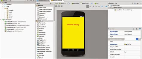 background layout android studio cara mengganti background layout aplikasi di android