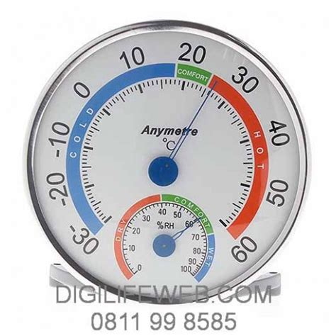 Thermometer Dan Hygrometer analog thermometer hygrometer anymetre 101