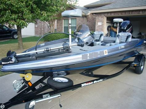 used triton boats for sale in texas triton 17 pro boats for sale boats