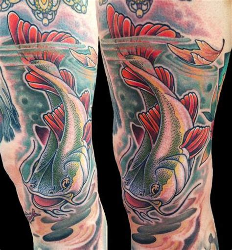 tribal catfish tattoos catfish tattoos designs ideas and meaning tattoos for you
