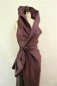 mauve color dress severyna in dusty mauve color dupioni wrap dress