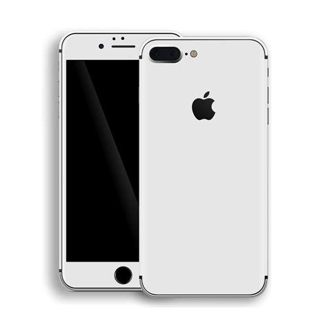 iphone 8 plus white matt skin easyskinz