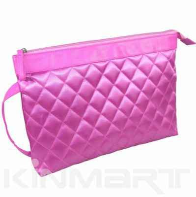 Quilted Makeup Bags by Custom Large Quilted Cosmetic Bag Km A1369lk 002 Kinmart