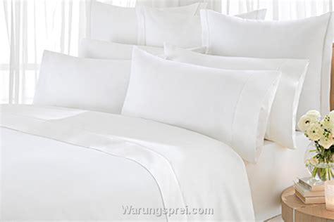 Sprei Polos Putih 160200 sprei hotel putih warungsprei