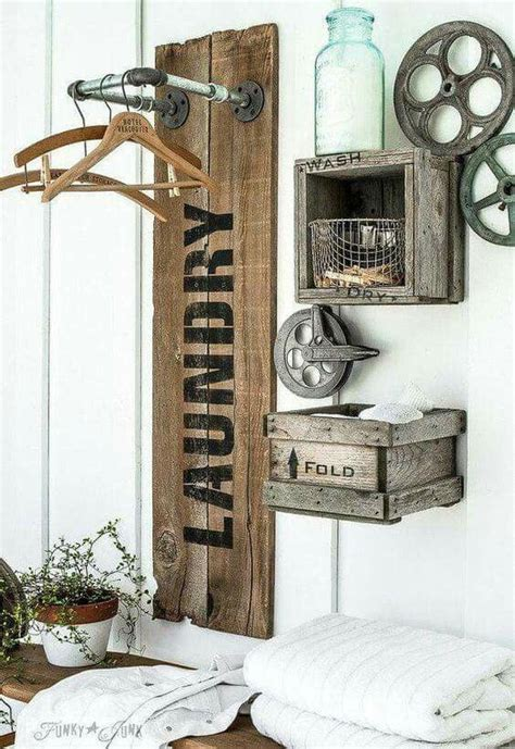 rustic laundry room decor best 25 rustic laundry rooms ideas on wash