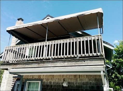 Second Awnings by Custom Deck Awnings And Patio Canopies To Fit Any Space In