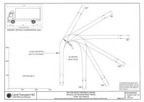 design vehicles and turning path template guide truck turning radius pilotproject org