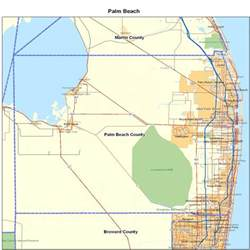 palm county fl map florida map map of florida