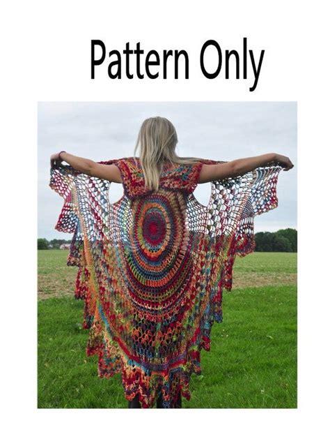 Stevie Nicks Bohemian Vest Crochet Pattern | crochet vest pattern bohemian vest stevie nicks style