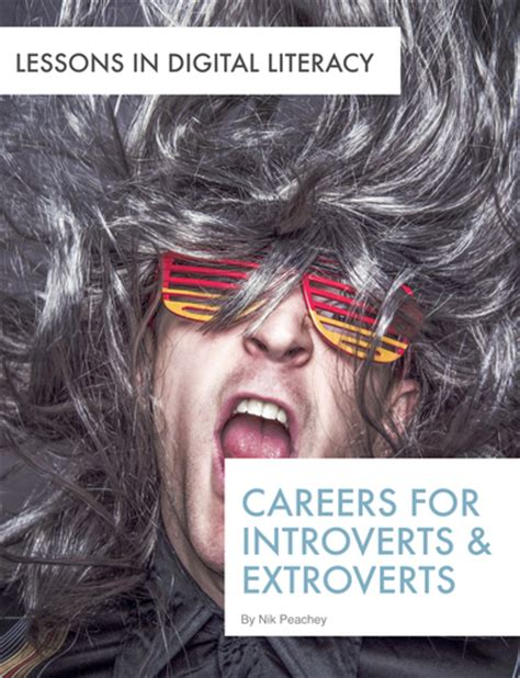 careers for introverts extroverts lessons in digital literacy by nikpeachey teaching