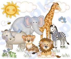 Wall Art Stickers Childrens Rooms jungle zoo animals wall mural decal baby nursery kids room