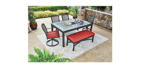 winn dixie outdoor furniture st peterburg 6 dining set with bench only 399 reg