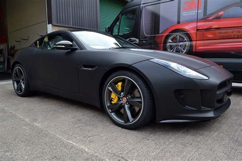 Car Wrap Types by Brand New Jaguar F Type Wrapped By Us In Matte Black It