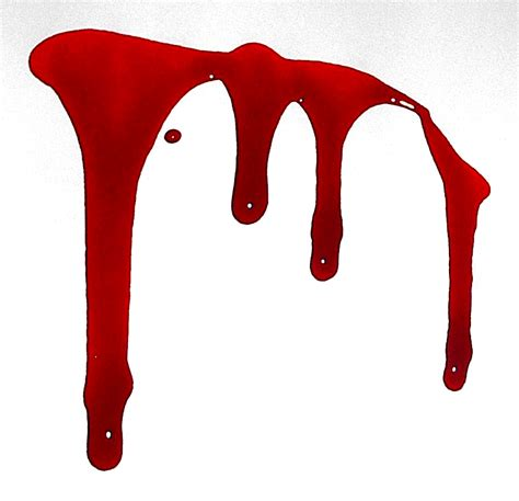 blood a scary blood drop clipart clipart suggest
