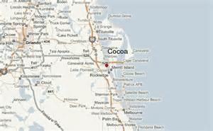 coco florida map cocoa location guide