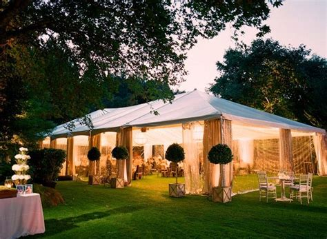 backyard tent weddings outdoor tent wedding reception