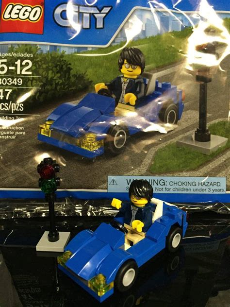 Lego City 30349 Sports Car lego city sports car 30349 tiger polybag sets released