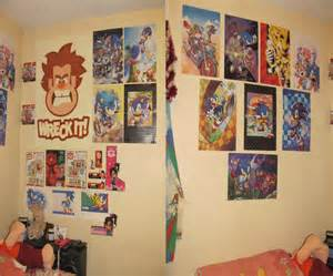room posters my room decorated with posters by darkwingfan on deviantart
