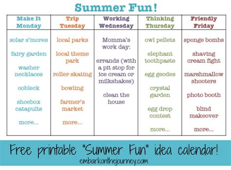 fun themed events for work 30 fun summer activities for kids