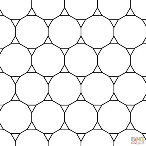 triangle pattern coloring page geometric triangle color pages joy studio design gallery