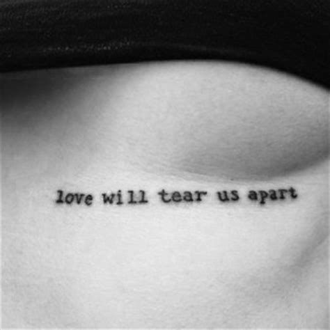tattoo love will tear us apart the miner bits fonts 1