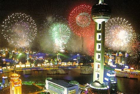 shopping in shanghai during new year happy new year fireworks backpacking asia