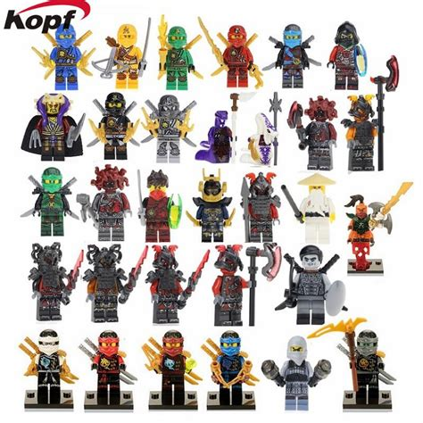 Ninjago Vermin Minifigure Wei Snake Samurai X Wu Pg8055 heroes nya lloyd krux the wei snake