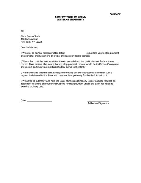 Payment Request Letter Uk Stop Payment Of Cheque Letter Format Best Template Collection