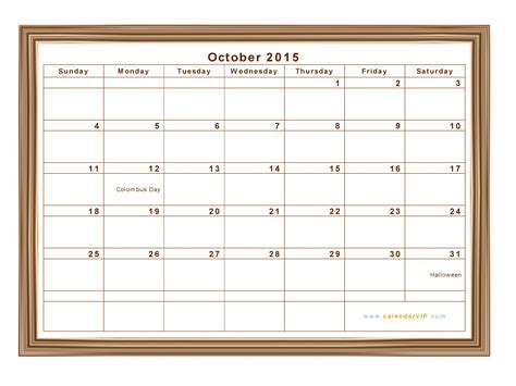 printable monthly planner october 2015 calendar october 2015 with holidays calendar template 2016