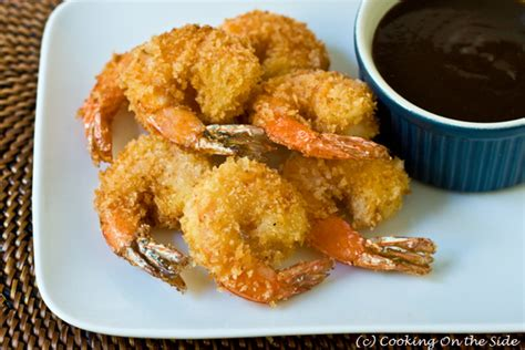 Tepung Panko Bread Crumbs recipe crispy fried shrimp cooking on the side