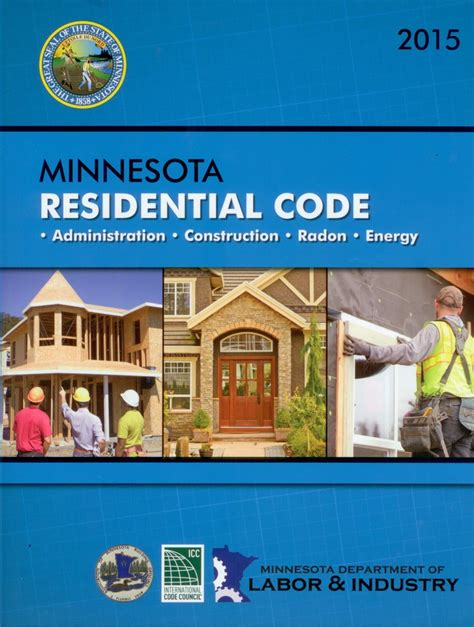 2015 international residential code for one and two family dwellings upcoming changes to the minnesota state building code