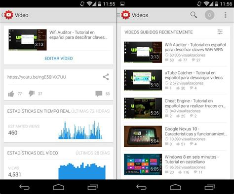 download youtube uptodown gestiona tu canal desde el m 243 vil con youtube creator