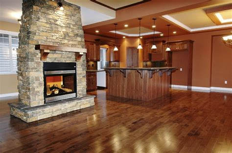 two way fireplace home