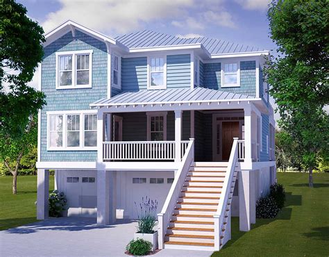Plans For Cottages And Small Houses Four Bedroom Beach House Plan 15009nc 2nd Floor Master