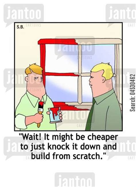house painter jokes home improvement cartoons humor from jantoo cartoons