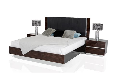 italian lacquer bedroom set modrest luxor italian modern ebony lacquer bedroom set