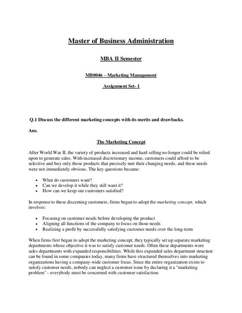 Retail Marketing Notes For Mba Students by Marketing Mgt