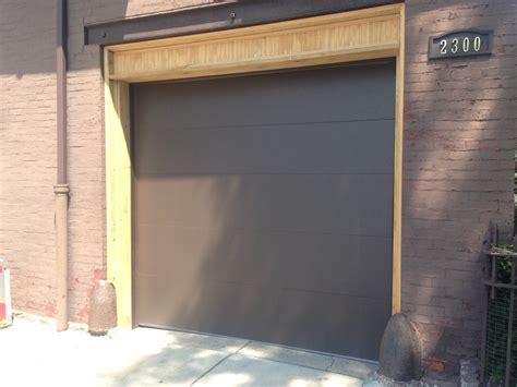 How To Frame In A Garage Door Garage Door Photos Garage Door Professionals Of Chicago