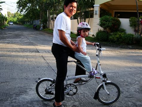 bobike child seat brompton a folding bike around manila testing the locally