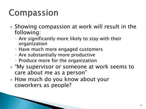 the compassionate organization and the who to work for them books ppt why would i want to follow you powerpoint