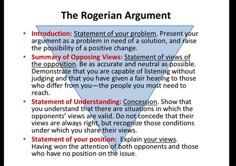 Rogerian Essay Sle by Thesis Statement Sle Statement Information Write A Writing Structure Of The Rogerian Argument