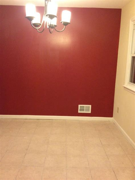 red accent walls dark red accent wall my beautiful nest pinterest